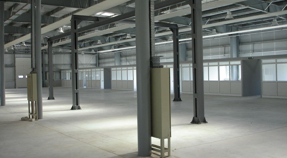Cladiri Industriale - ESP Portofoliu