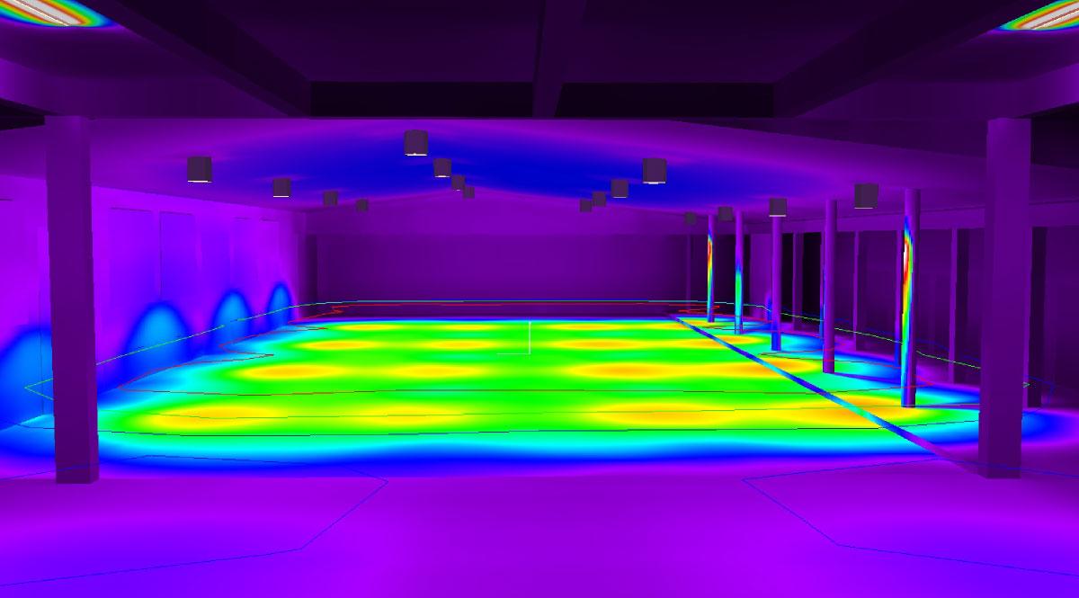 Studiu Luminotehnic Iluminat LED - ESP Solutii